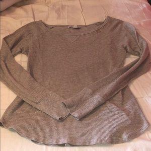 American Eagle long sleeve glittery sweater